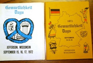 1972-1973 Booklets