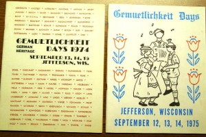 1974-1975 Booklets