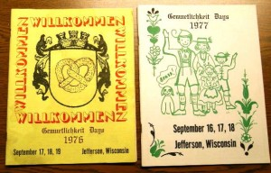 1976-1977 Booklets