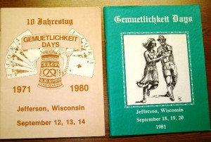 1980-1981 Booklets