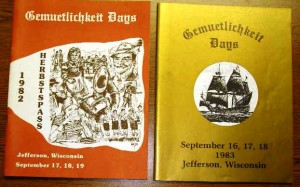 1982-1983 Booklets