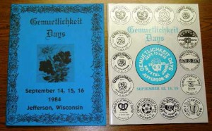1984-1985 Booklets