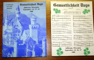 1988-1989 Booklets