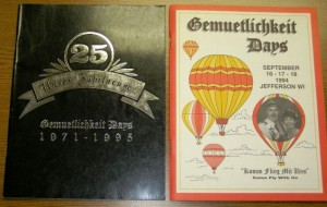 1994-1995 Booklets